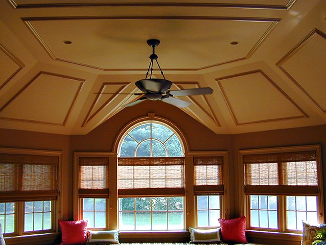 Sunroom & Fantastic Ceiling