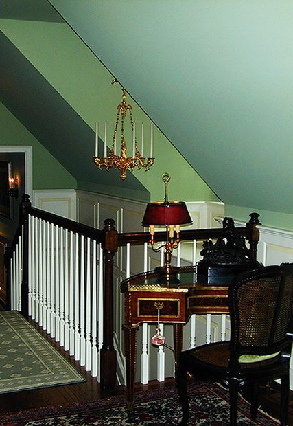 Railing and stairs