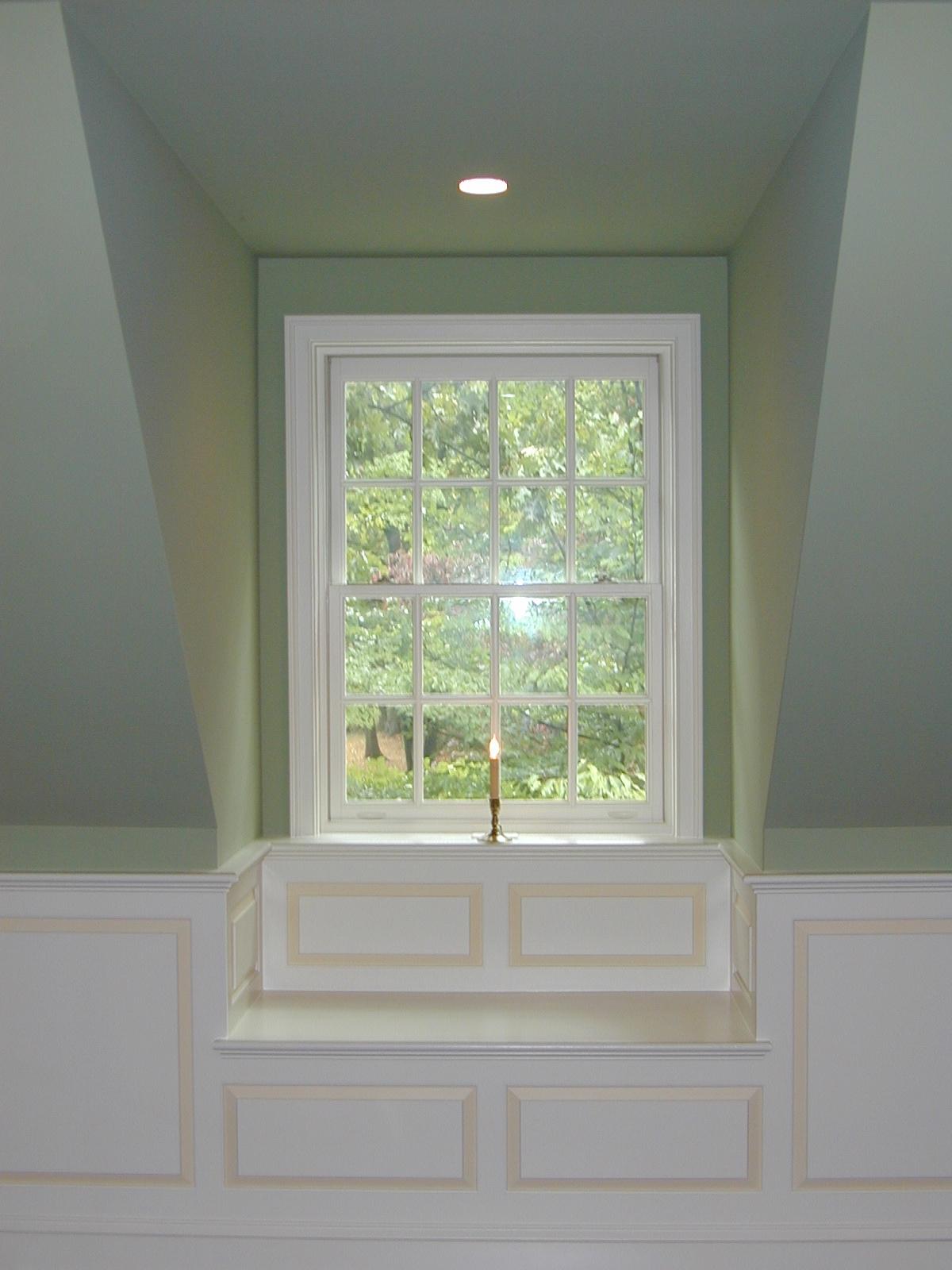 Window Seat In Dormer Michael Lohman Llc